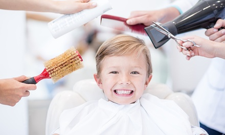 Men's, Boy's, or Girl's Haircut at Great Hands Hair Salon (Up to 50% Off)