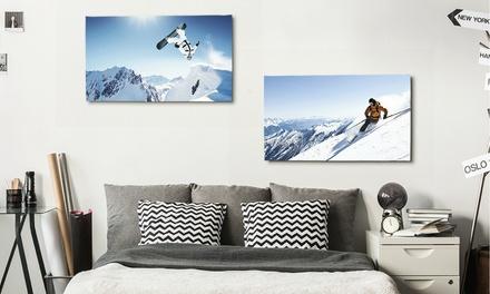 1, 2, 3 ou 4 toiles de 60x40 cm dès 14,99 €, personnalisables en ligne sur Picanova (jusqu'à 83% de réduction)