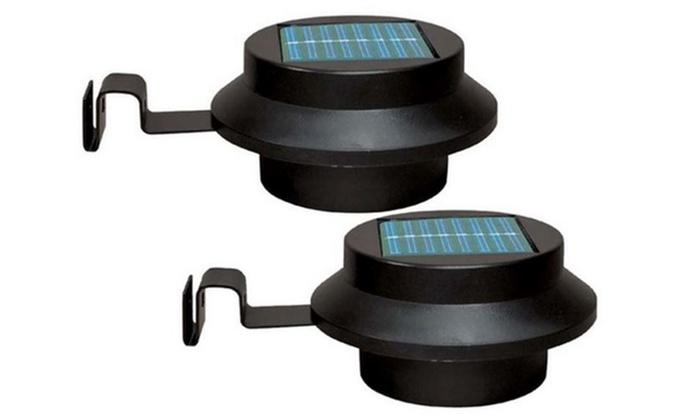 set van 2 of 4 solar verlichting