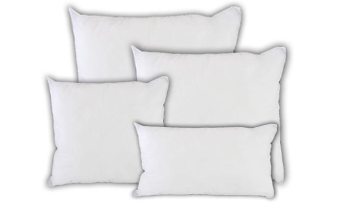4 imbottiture per cuscini