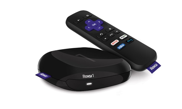 Roku 1 Streaming Media Player (Manufacturer Refurbished)
