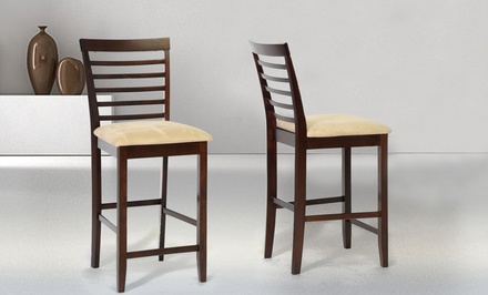 Set of 2 Baxton Studio Counter Chairs. Multiple Styles Available.