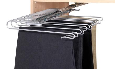 Estraibili porta abiti e porta accessori per armadio Wenko
