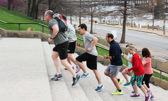 St. Louis Running Tour - St. Louis Running Tour: Running Tour and Shirts for Four, Six, or Eight People from St. Louis Running Tour (Up to 55% Off)