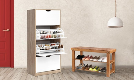 for a Bamboo Shoe Storage Cabinet in Choice of Design