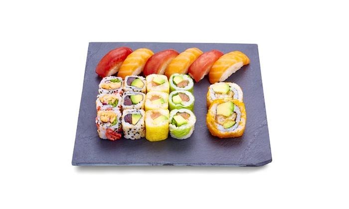 20 ou 40 pi ces chez eat sushi eat sushi st etienne. Black Bedroom Furniture Sets. Home Design Ideas