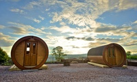 Isle of Bute: 1 to 3 Night Glamping For Two or Up to Four at the Roseland Lodge Park