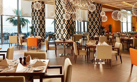 5* Dinner Buffet with Soft or House Beverages for Up to Four at Mezze All Day Dining (Up to 65% Off)