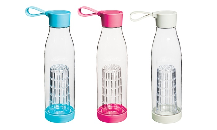 Fruit Infuser Water Bottle with Lid