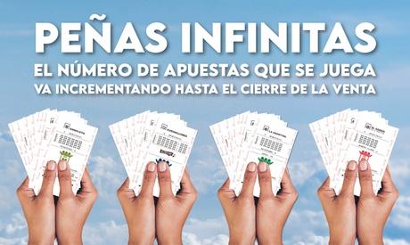 Participación para la peña Infinita enBonoloto,El Gordo de la Primitiva,Euromillones oPrimitiva conServiapuestas