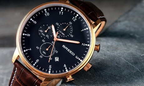 Breed Holden Reloj cronógrafo con indicador de fecha