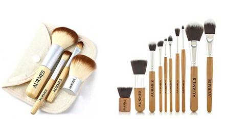 Sets de 4 ou 10 pinceaux de maquillage dès 6,90 € (jusqu'à 72% de réduction)