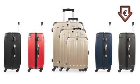 Set de 3 maletasBlueStar modelo Madrid