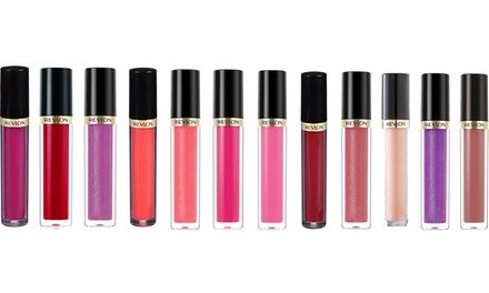 Three Revlon Super Lustrous Lip Glosses