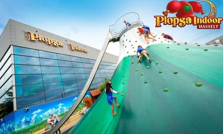 Plopsa Indoor Hasselt: entreeticket voor het pretpark