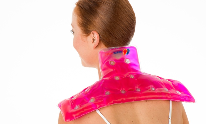 Reusable Instant Heating Pad : Reusable instant neck and shoulder heating pads in a click