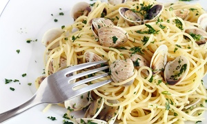 Ristorante Dalla Rina: Menu di pesce con portate a scelta e calice di vino per 2, 4 o 6 persone al Ristorante Dalla Rina (sconto fino a 59%)