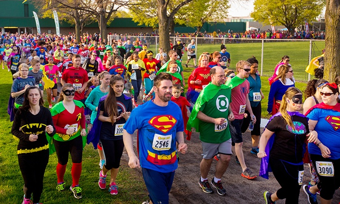 The Super Run - Fort Worth: Registration for One or Two at The Super Run (Up to 44% Off). Two Options Available.