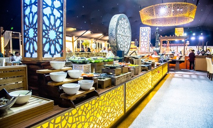 Iftar or Eid Buffet with Ramadan Beverages at Al Tasamoh Tent at 5* Bab Al Qasr Hotel (Up to 23% Off)*