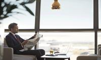 25% oder 50% Rabatt auf eine Mitgliedschaft bei Priority Pass für den Lounge-Zugang in Flughäfen