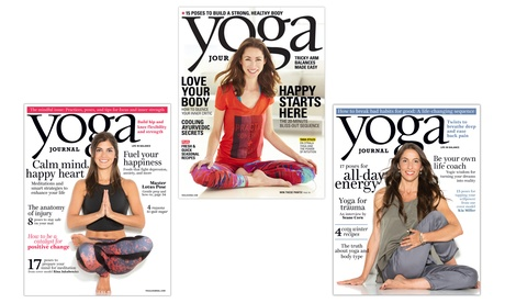 1- or 2-Year Subscription to Yoga Journal Magazine (9 or 18 Issues)