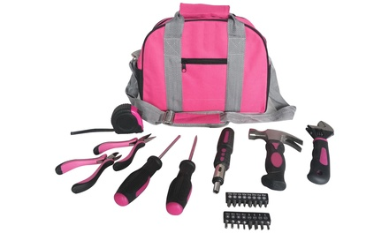 Hyfive 26  or 39 Piece Pink Toolkit