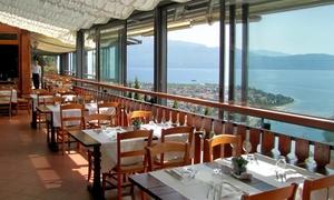 Rustichel: Esperienza di gusto sul lago di Garda - Menu di 5 portate a scelta, dolce e vino al Rustichel (sconto fino al 67%)