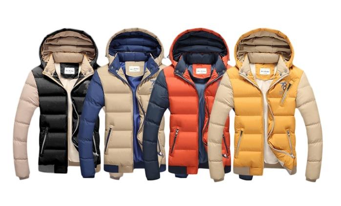 Veste d'hiver pour homme coloris au choix à 39,99€ (70% de réduction)