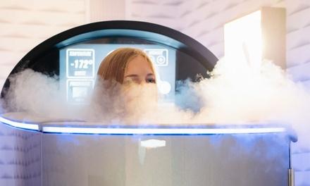 Séance de cryothermie en solo ou en duo dès 32,90 € au centre Cryoline