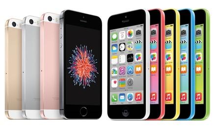 Apple iPhone 4S/ 5C/5/ 5S/ SE, reconditionné, Garanti 1 an , avec livraison offerte.