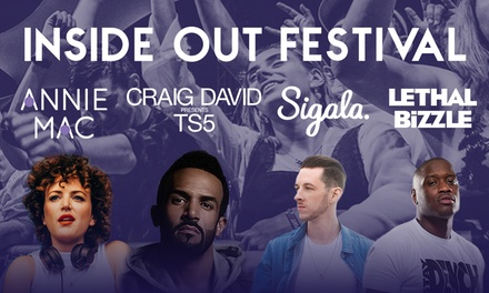 Inside Out Festival on 30 September at Bute Park, Cardiff (Up to 9% Off)