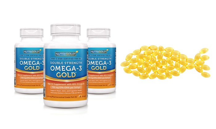 Nutrigold double strength omega 3 fish oil 3 pack for Nutrigold fish oil