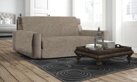 Copridivano antiscivolo relax adatto a moltissimi tipi di divani disponibile in molti diversi colori