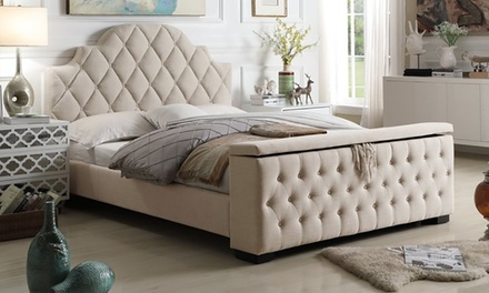 Footboard Storage Bed (from AED 1999) with Optional Mattress (from AED 2399)