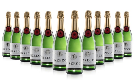 12 Bottles Sparkling Fizzecco with Free Delivery