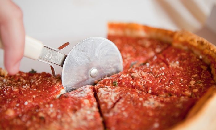 Johnny Chicago's - Midtown: One- or Two-Pizza Meal with Fountain Drinks at Johnny Chicago's (Up to 55% Off)