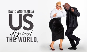 David and Tamela Mann – Up to 20% Off Gospel Music & Comedy at Us Against the World - Mann Family Tour, plus 6.0% Cash Back from Ebates.