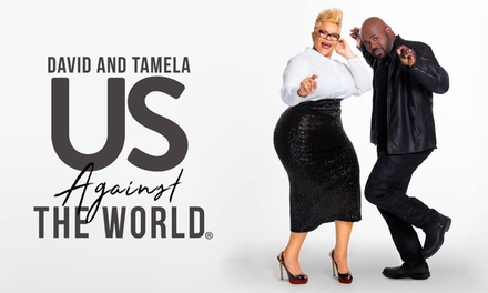 David and Tamela Mann: Us Against the World Tour on November 8, Showtime at 7 p.m.