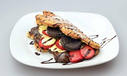 2x oder 4x Wonder-Waffel mit Eis, Früchten, Toppings, Saucen und Specials bei Wonder Waffel Hamburg (bis zu 39% sparen*)