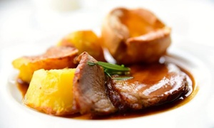 Cathedral Quarter Hotel: Three-Course Sunday Lunch for Two or Four at Cathedral Quarter Hotel (50% Off)