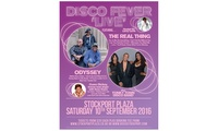 Disco Fever Live on 10 September at 7.30 p.m., The Stockport Plaza (Up to 52% Off)