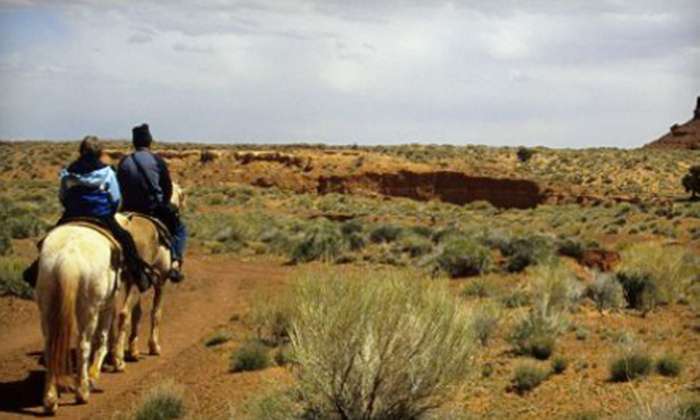 Double R Ranch - Picture Rocks: Sunset Horse Ride with BBQ Dinner for Two or Four, or Kids' Birthday Party at Double R Ranch (Up to 51% Off)