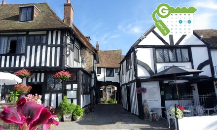 Rye: Double or Twin Room for Two with Breakfast and Dinner Credit for 2 AA Rosette Restaurant at The Mermaid Inn