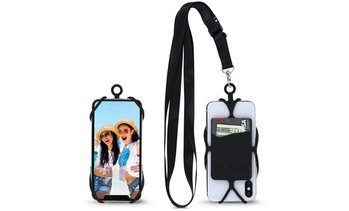 Crossbody Universal Cell Phone Lanyard with Card and ID Holder
