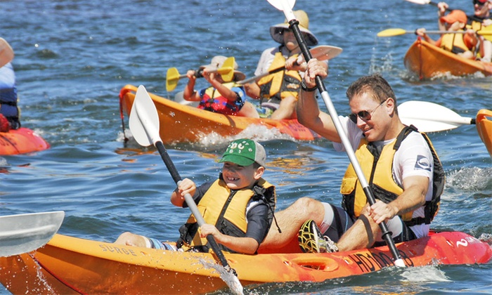 Three-Hour Single Kayak Experience for One ($19) or Double Kayak Experience for Two ($39)