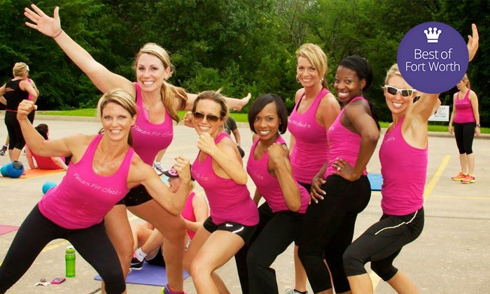 Texas Fit Chicks Boot Camp - Multiple Locations:  for a Four-Week Fitness Boot Camp and 30-Day Meal Plan at Texas Fit Chicks Boot Camp ( Value)