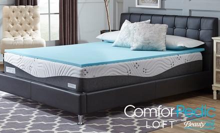 "ComforPedic Loft from Beautyrest 1"" Gel Memory Foam Mattress Topper"