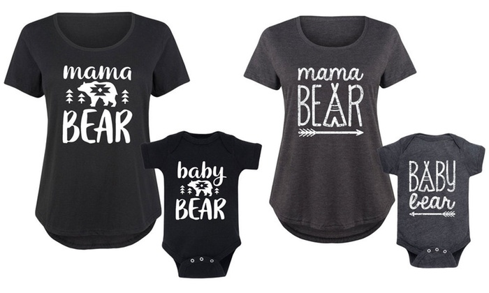 16bf0a145c64 Up To 48% Off on Mama   Baby Bear Matching Set