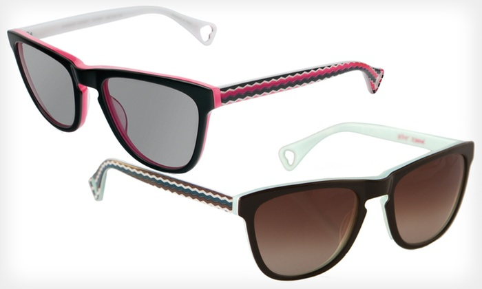 Carnaby Street Sunglasses: $39 for Carnaby Street Sunglasses by Betsey Johnson ($225 List Price). Two Colors Available.