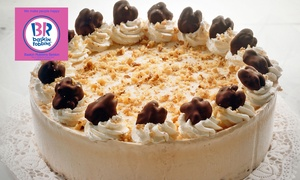 Baskin Robbins : $35 for a Six-Inch Custom-Made Round Cake, or $45 for a Nine-Inch Cake at Baskin Robbins, Beldon (Up to $63 Value)